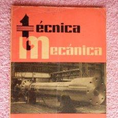 Libros de segunda mano: TÉCNICA MECÁNICA 45 EDICIONES CEAC 1962 MECÁNICA MOTOR Y AUTOMOVILES. Lote 47811721