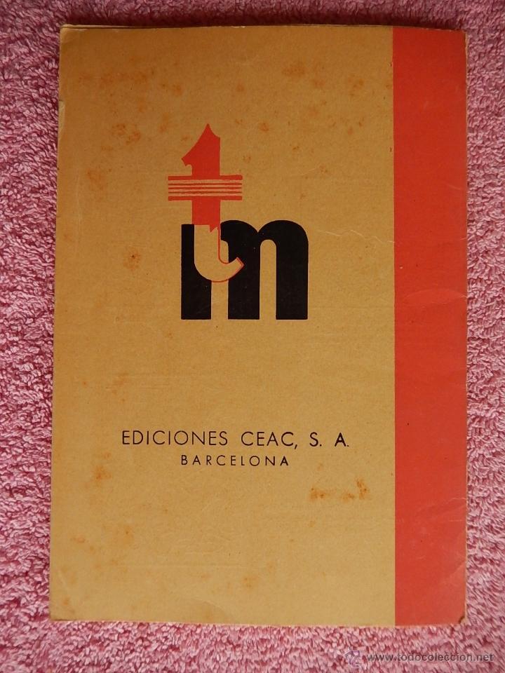 Libros de segunda mano: técnica mecánica 45 ediciones ceac 1962 mecánica motor y automoviles - Foto 6 - 47811721