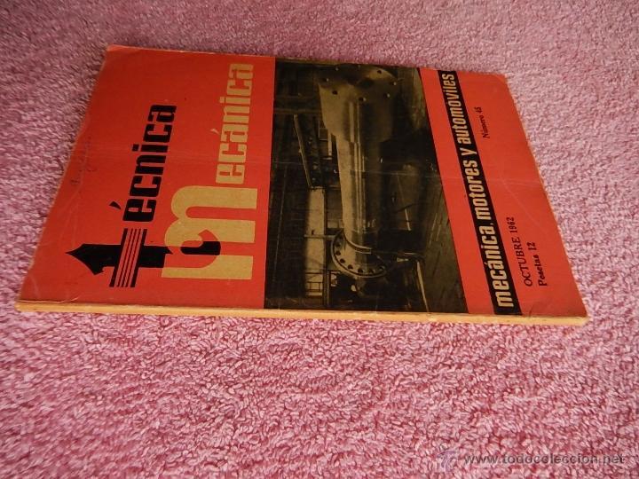 Libros de segunda mano: técnica mecánica 45 ediciones ceac 1962 mecánica motor y automoviles - Foto 7 - 47811721