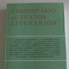 Libros de segunda mano: ANTÓNIO GIL HERNÁNDEZ (COORD.). COMENTÁRIO DE TEXTOS LITERÁRIOS. RM68168. . Lote 47815871