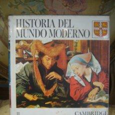 Libros de segunda mano: HISTORIA DEL MUNDO MODERNO. TOMO II: LA REFORMA 1520-1559. CAMBRIDGE UNIVERSITY PRESS-SOPENA.. Lote 47817657