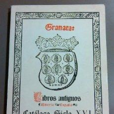 Libros de segunda mano: GRANATA. LIBROS ANTIGUOS SIGLO XVI. MILITARES. ESGRIMA. 1980. ARTES GRÁF. GUTENBERG. REPRODUCCIONES. Lote 47872340