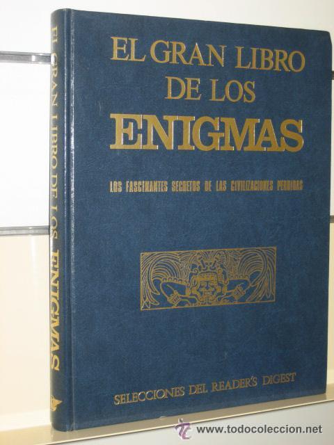 1 LIBRO AÑO 1977 - EL GRAN LIBRO DE LOS ENIGMAS -FASCINANTES SECRETOS DE LAS CIVILIZACIONES PERDIDAS (Libros de Segunda Mano - Parapsicología y Esoterismo - Otros)