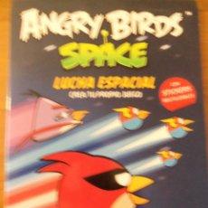 Libros de segunda mano: ANGRY BIRDS SPACE - LUCHA ESPACIAL CREA TU PROPIO JUEGO - CON STICKERS REUTILIZABLES - ROVIO BOOKS. Lote 47909855