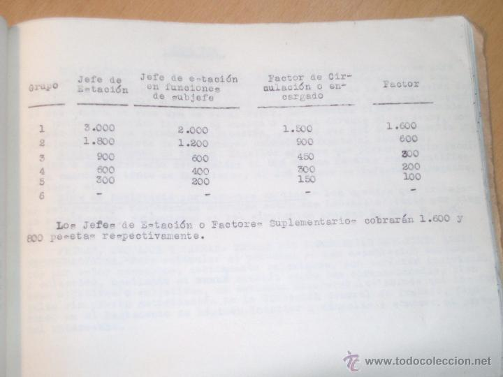 Libros de segunda mano: Reglamentación RENFE, definiciones, salarios etc... - Foto 5 - 47961203