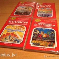 Libros de segunda mano: LOTE DE LIBROS ELIGE TU PROPIA AVENTURA 7 8 13 Y 15 COMO NUEVOS. Lote 48205620