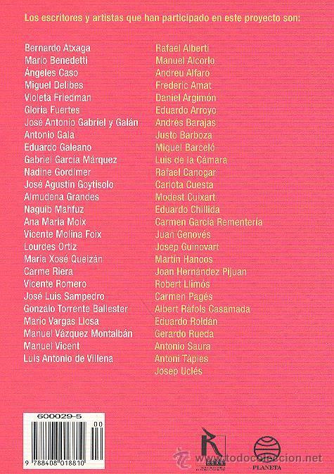 Libros de segunda mano: ÉRASE UNA VEZ LA PAZ CHILLIDA BENEDETTÍ TÀPIES GARCÍA MÁRQUEZ SAURA DELIBES BARCELÓ GENOVÉS ARROYO - Foto 11 - 221563418