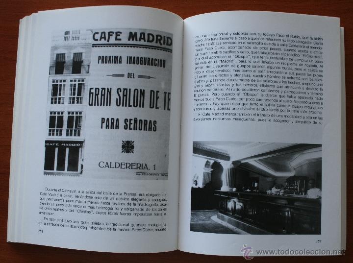 Libros de segunda mano: UN BREVE PASEO POR LOS QUE FUERON ENTRAÑABLES CAFES DE MALAGA ESTABLECIMIENTOS HAN MARCADO HISTORIA - Foto 4 - 48220029