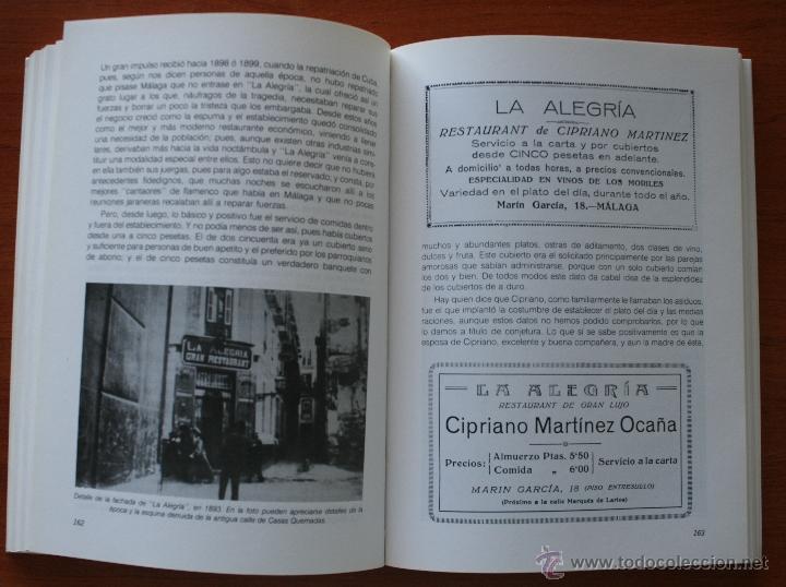 Libros de segunda mano: UN BREVE PASEO POR LOS QUE FUERON ENTRAÑABLES CAFES DE MALAGA ESTABLECIMIENTOS HAN MARCADO HISTORIA - Foto 5 - 48220029