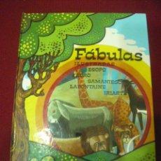 Libros de segunda mano: FABULAS ILUSTRADAS - EVEREST (1982). Lote 48225088