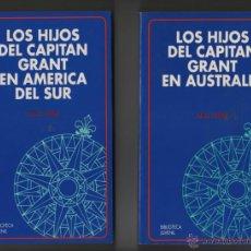 Libros de segunda mano: JULIO VERNE - LOTE DE TRES TOMOS - BIBLIOTECA JUVENIL.. Lote 48284332