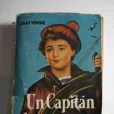 Libros de segunda mano: LIBRO PULGA - UN CAPITAN DE QUINCE AÑOS - JULIO VERNE - MIRA OTROS EN MI TIENDA. Lote 48306576