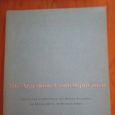 Libros de segunda mano: ARTE ARGENTINO CONTEMPORANEO.COLECCION MUSEO BELLAS ARTES BUENOS AIRES. E.D. TELEFONICA.. Lote 48307941