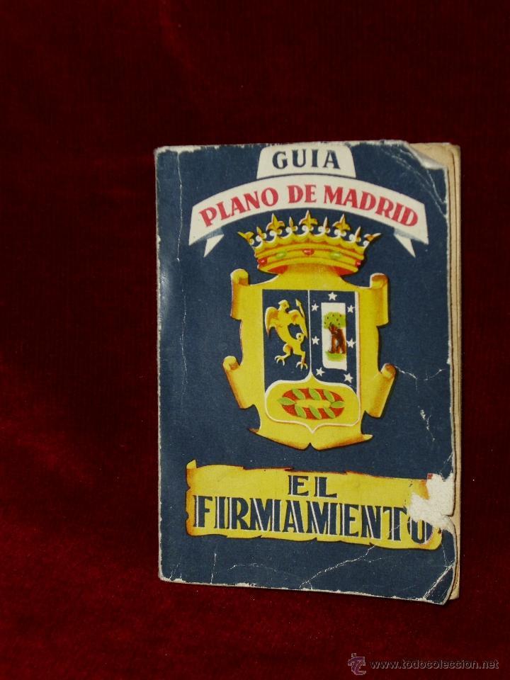 ANTIGUA GUIA PLANO DE MADRID ( EL FIRMAMENTO) (Libros de Segunda Mano - Bellas artes, ocio y coleccionismo - Otros)