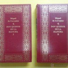 Libros de segunda mano: EL INGENIOSO HIDALGO DON QUIJOTE DE LA MANCHA. MIGUEL DE CERVANTES. 1989. . Lote 48340316