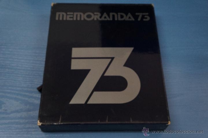 LIBRO DE MEMORANDA 73 DE DIFUSORA INTERNACIONAL S.A. LEER DESCRIPCIÓN (Libros de Segunda Mano - Historia - Otros)