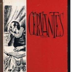 Libros de segunda mano: CERVANTES. ISABEL FLORES DE LEMUS. EDT. VILAMALA. (C/C). Lote 48399093