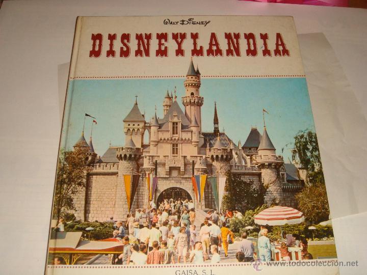 DISNEYLANDIA , WALT DISNEY , GAISA , 1968 (Libros de Segunda Mano - Literatura Infantil y Juvenil - Otros)