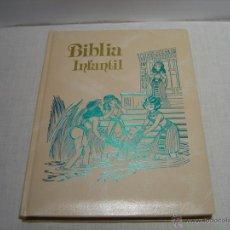 Libros de segunda mano: BIBLIA INFANTIL - EDITORIAL ALFREDO ORTELLS 1990. Lote 48459435