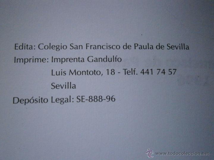 Libros de segunda mano: DE BUENOS LECTORES NACEN GRANDES ESCRITORES Colegio San Francisco de Paula 1996 - Foto 6 - 48467901