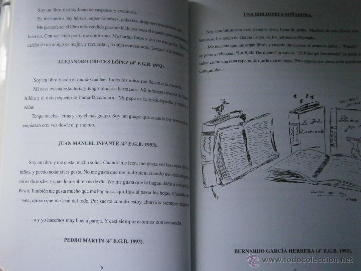 Libros de segunda mano: DE BUENOS LECTORES NACEN GRANDES ESCRITORES Colegio San Francisco de Paula 1996 - Foto 9 - 48467901