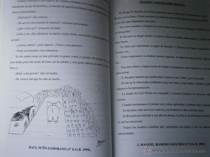 Libros de segunda mano: DE BUENOS LECTORES NACEN GRANDES ESCRITORES Colegio San Francisco de Paula 1996 - Foto 10 - 48467901