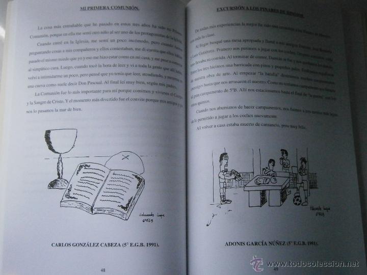 Libros de segunda mano: DE BUENOS LECTORES NACEN GRANDES ESCRITORES Colegio San Francisco de Paula 1996 - Foto 13 - 48467901
