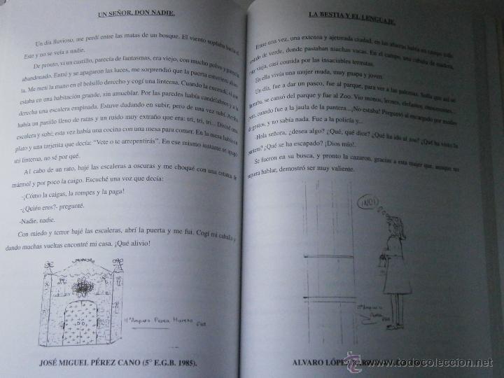 Libros de segunda mano: DE BUENOS LECTORES NACEN GRANDES ESCRITORES Colegio San Francisco de Paula 1996 - Foto 14 - 48467901