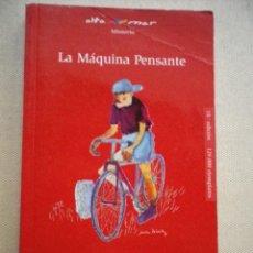 Libros de segunda mano: LIBRO LA MAQUINA PENSANTE POR JACQUES FUTRELLE. Lote 48469208