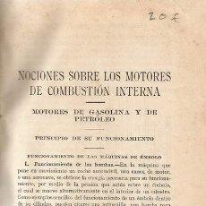 Libros de segunda mano: CURSO DE MOTORES. RM68579. . Lote 48534983