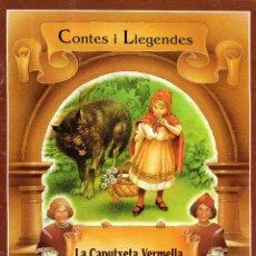 Libros de segunda mano: . LIBRO CONTES I LLEGENDES LA CAPUTXETA VERMELLA PRIMERA PART EN CATALA I INGLES. Lote 48536169