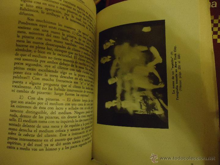 Libros de segunda mano: LOS FRAUDES ESPIRITISTAS Y LOS FENOMENOS METAPSIQUICOS. C. M. DE HEREDEIA. EDIT. HERDER. 1 ED. 1946. - Foto 4 - 48545065