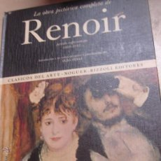 Libros de segunda mano: LA OBRA PICTÓRICA COMPLETA DE RENOIR Nº 33 EDIT NAGUER AÑO 1969. Lote 48554951