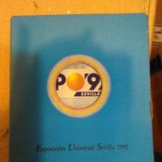 Libros de segunda mano: TALLER DE CULTURA ANDALUZA.EXPOSICION UNIVERSAL SEVILLA 1992. Lote 103719888