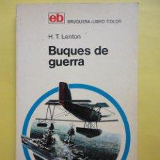 Libros de segunda mano: BUQUES DE GUERRA, H. T. LENTON. Lote 48577097