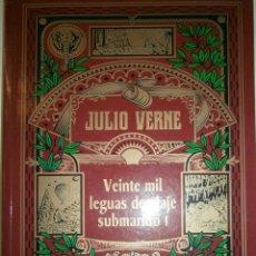 Libros de segunda mano: VEINTE MIL LEGUAS DE VIAJE SUBMARINO JULIO VERNE VOL I Y II EDICION ESPECIAL CENTENARIO RBA. Lote 115038370