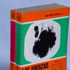 Libros de segunda mano: LAS FUERZAS FÍSICAS DE LA MENTE. 2 TOMOS. Lote 48621098