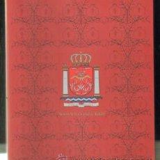 Livros em segunda mão: ARMAS DE LA CIUDAD DE RONDA. ESTUDIO,REHABILITACIÓN Y DISEÑO DEL ESCUDO MUNICIPAL A-LMAL-215. Lote 48642907