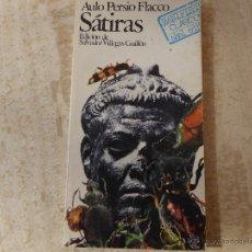 Libros de segunda mano: SÁTIRAS. AULO PERSIO FLACCO.. Lote 48650597