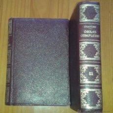 Libros de segunda mano: MIGUEL DE UNAMUNO - OBRAS COMPLETAS, TOMO III. ENSAYO I - AFRODISIO AGUADO / VERGARA, 1958. Lote 48651000