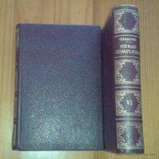 Libros de segunda mano: MIGUEL DE UNAMUNO - OBRAS COMPLETAS, TOMO VI. LA RAZA Y LA LENGUA - AFRODISIO AGUADO / VERGARA, 1958. Lote 48651084