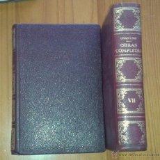 Libros de segunda mano: MIGUEL DE UNAMUNO - OBRAS COMPLETAS, TOMO VII. PRÓLOGOS-CONFERENCIAS-DISCURSOS - AFRODISIO AGUADO. Lote 48651158