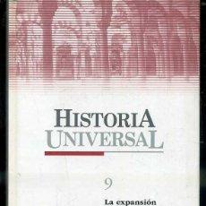 Libros de segunda mano: HISTORIA UNIVERSAL EL PAIS Nº 9 - LA EXPANSIÓN MUSULMANA (2004). Lote 48664347