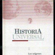 Libros de segunda mano: HISTORIA UNIVERSAL EL PAIS Nº 1 - LOS ORÍGENES (2004). Lote 48664375