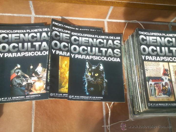 Libros de segunda mano: Enciclopedia Planeta de las Ciencias Ocultas y Parapsicología.86 FASCICULOS. Barcelona 1977 - Foto 2 - 48679957