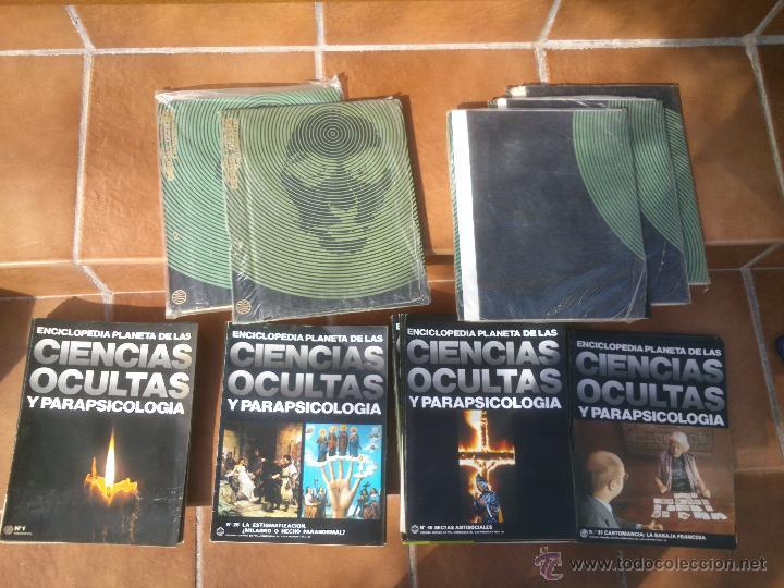 Libros de segunda mano: Enciclopedia Planeta de las Ciencias Ocultas y Parapsicología.86 FASCICULOS. Barcelona 1977 - Foto 6 - 48679957