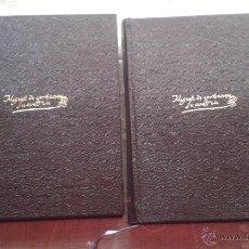 Libros de segunda mano: MIGUEL DE CERVANTES OBRAS COMPLETAS ED. AGUILAR DOS TOMOS. Lote 48701153