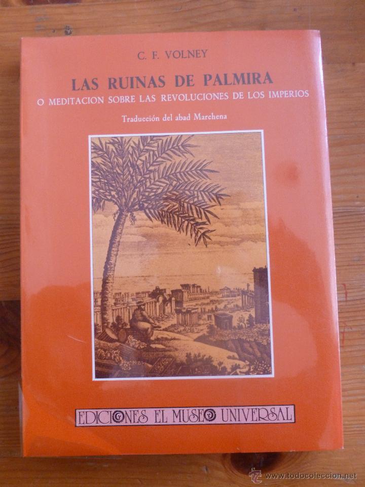 Resultado de imagen de las ruinas de palmira libro