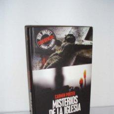 Libros de segunda mano: MISTERIOS DE LA IGLESIA DE CARMEN PORTER-ENIGMAS SIN RESOLVER-IKER JIMENEZ (INCLUYE CD). Lote 48757890