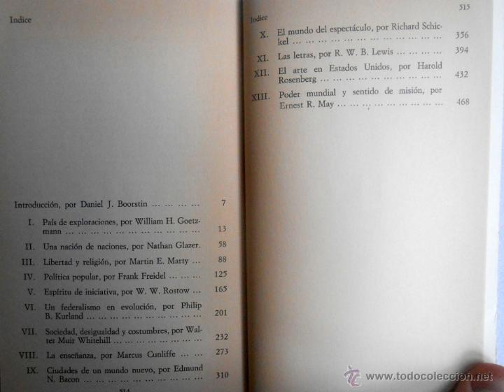 Libros de segunda mano: HISTORIA DE LAS CIVILIZACIONES 12. ESTADOS UNIDOS - DANIEL J. BOORSTIN (DIRECTOR) - Foto 3 - 48819295